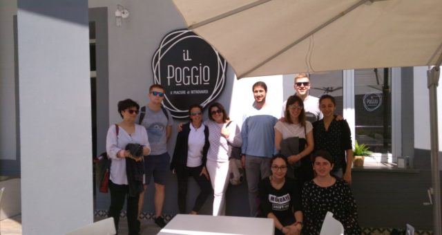 """Progetto Erasmus+ """"Youth Employment Toolbox"""", Napoli 21-25/04/2018"""
