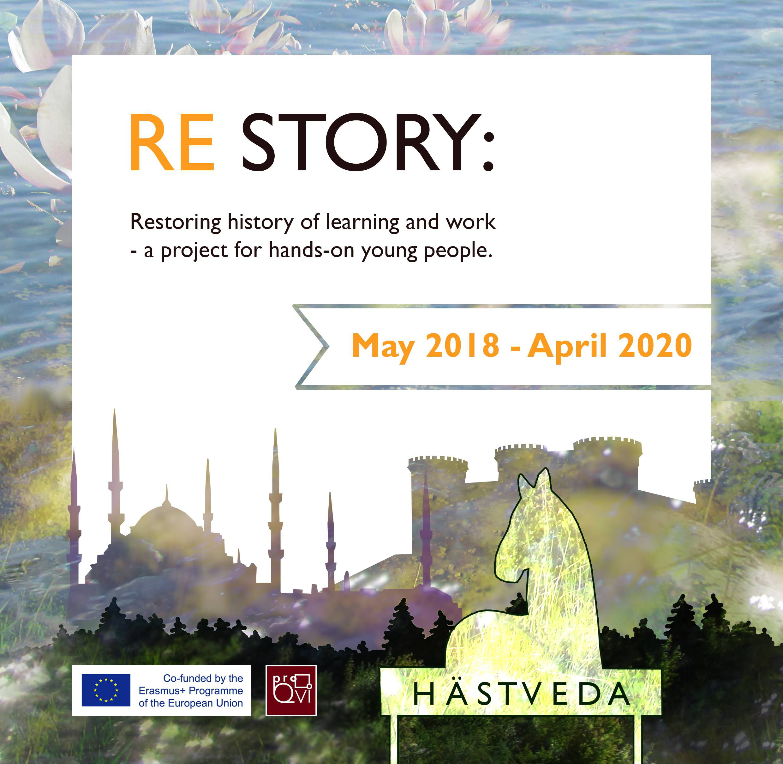 Erasmus+ – Progetto EVS ReStory – Mobilità in Svezia