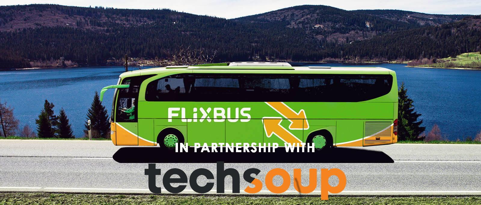 Sconti su FlixBus per i nostri volontari e partecipanti!