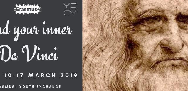 Find Your Inner Da Vinci – APV del progetto a Roma