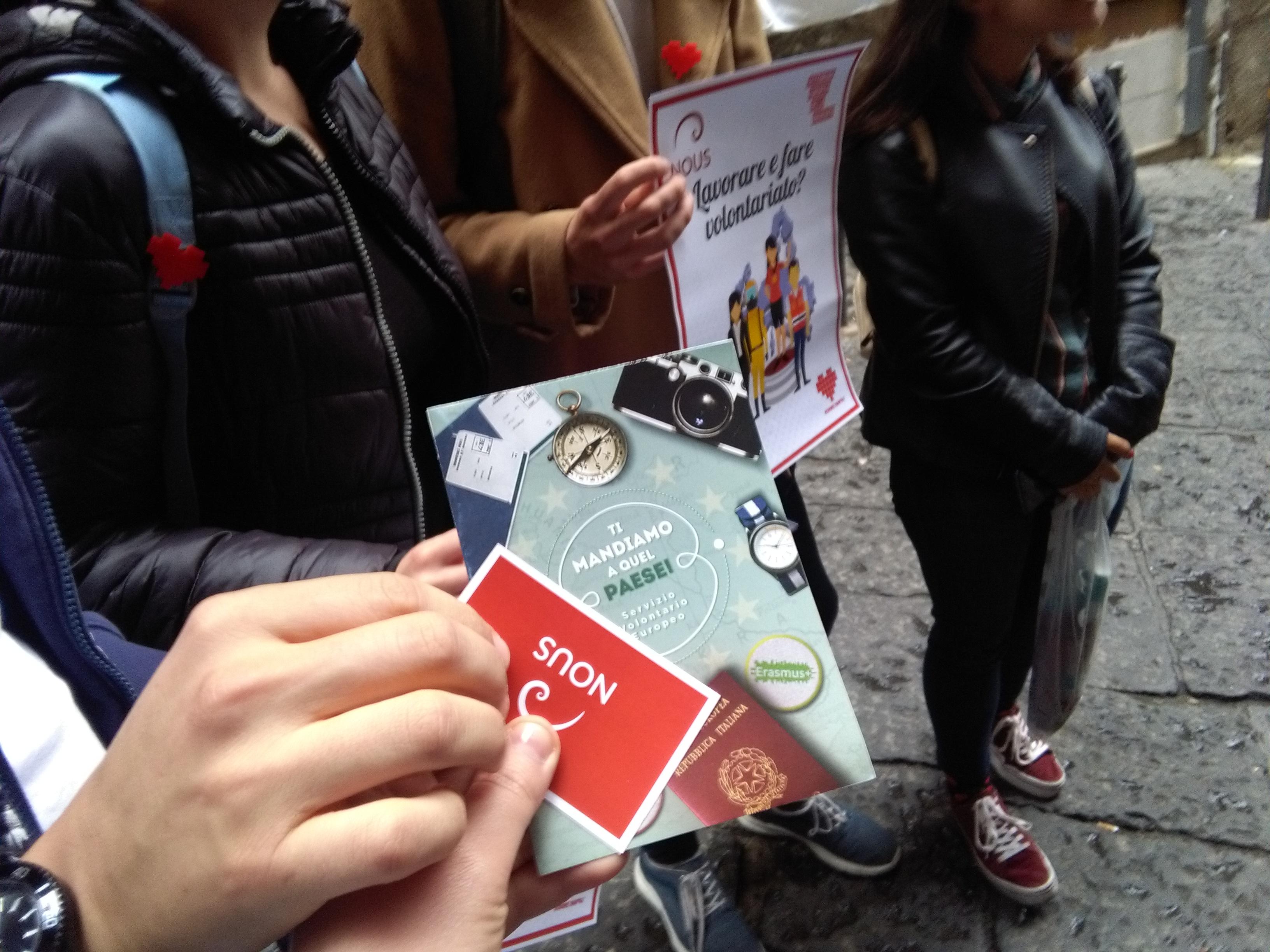 Settimana Europea della Gioventù raggiunge il #CUOREDINAPOLI