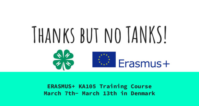Thanks but no TANKS! – Training Course in Danimarca