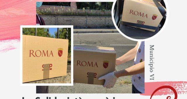 Campagna distribuzione Pacchi Alimentari – Roma