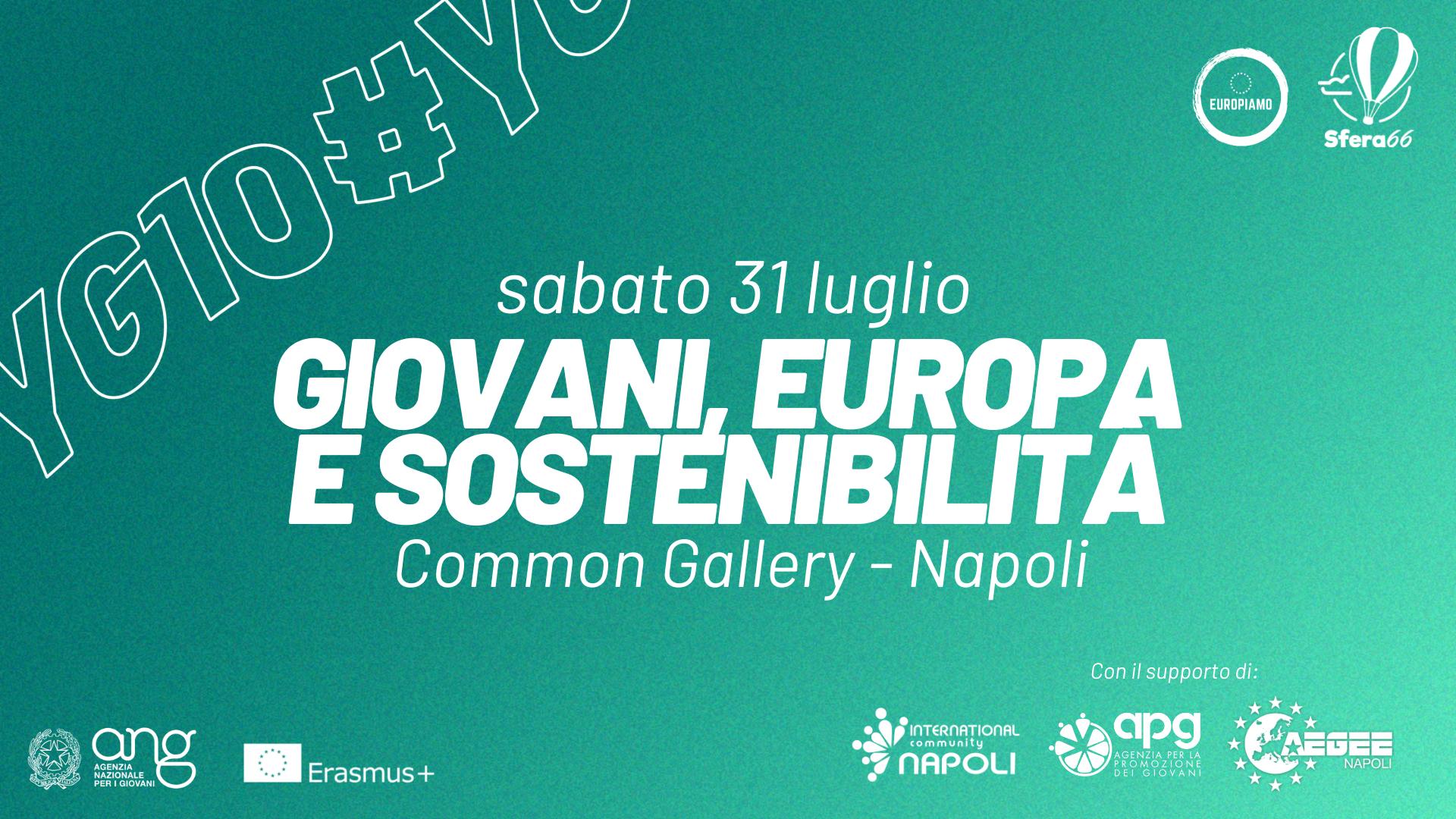 Erasmus+ KA3 – Youth Goals Challenge a Napoli il 31/07